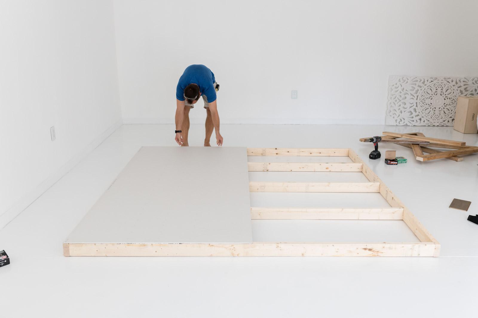 photography studio renovation