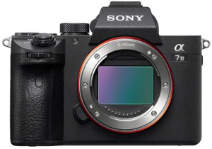 Sony A7III mirrorless camera