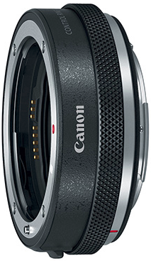 Canon mount adapter for EOS-R mirrorless camera