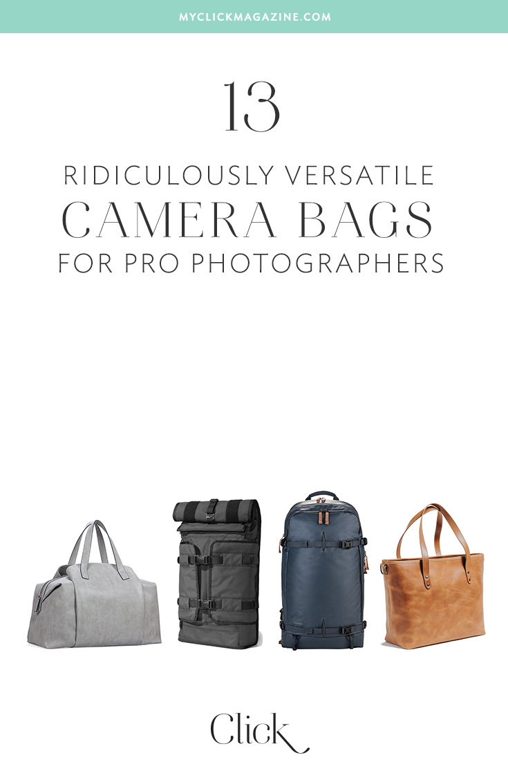As pro photographers, we want fashion-forward, versatile camera bags for women. You know, camera bags that meet the toughest pro standards and look great!