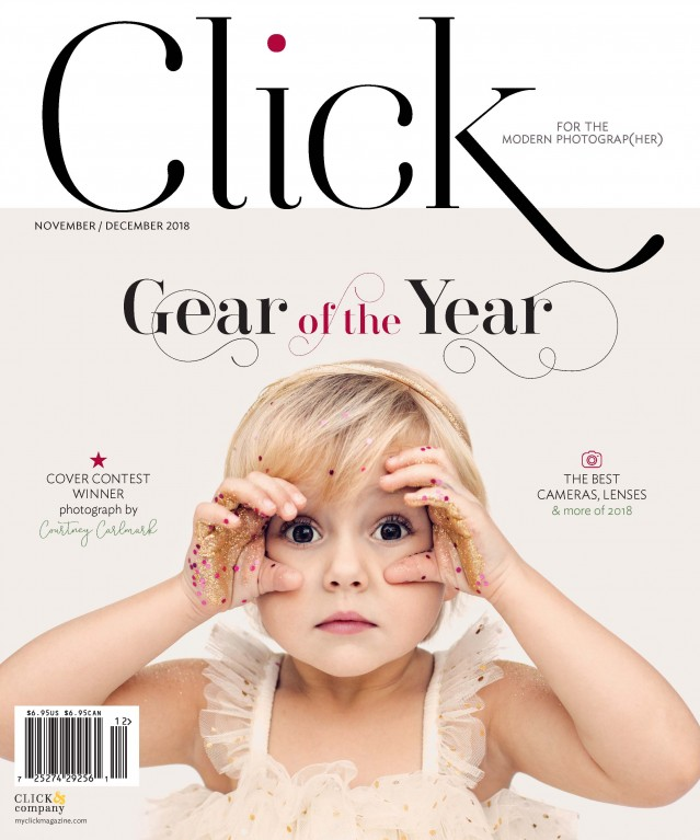 Click Magazine November/December 2018 cover