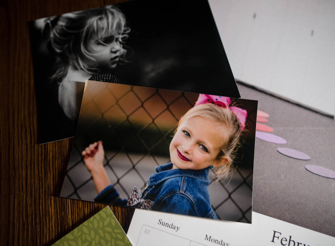 Photo prints illustrate printing digital images