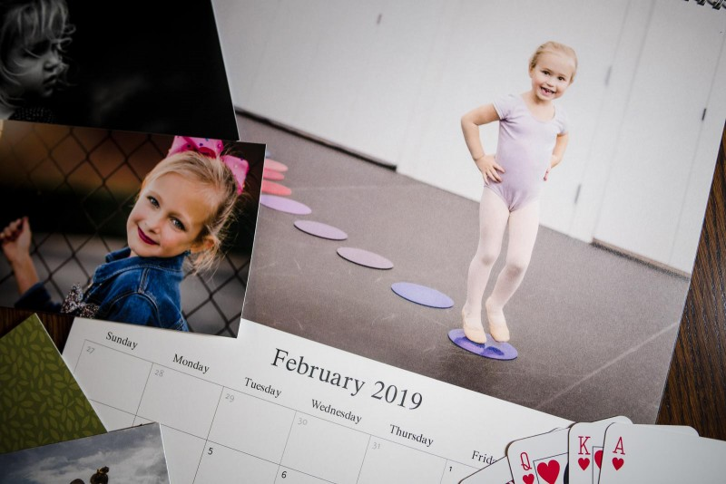 A photo calendar shows the importance of preparing digital images for print