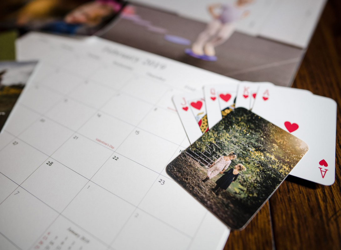 Photo playing cards show the importance of preparing digital images for print