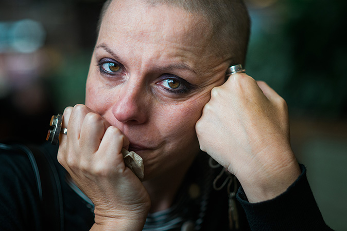 documenting cancer treatment through photography