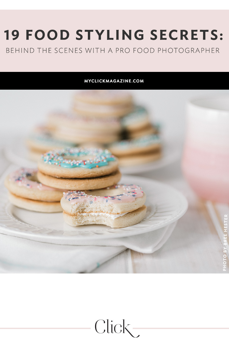 Food styling secrets from a pro photographer