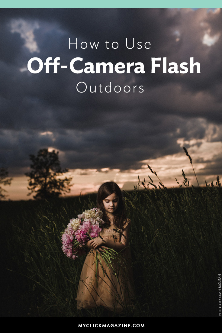 How to use off-camera flash outdoors