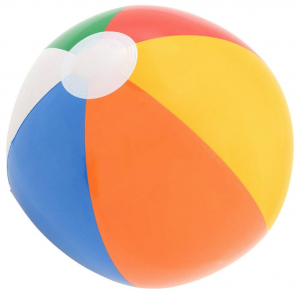 beach ball photo prop
