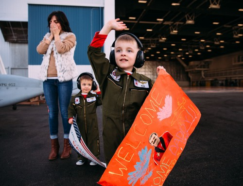 All the feels: How to photograph a military homecoming like a pro