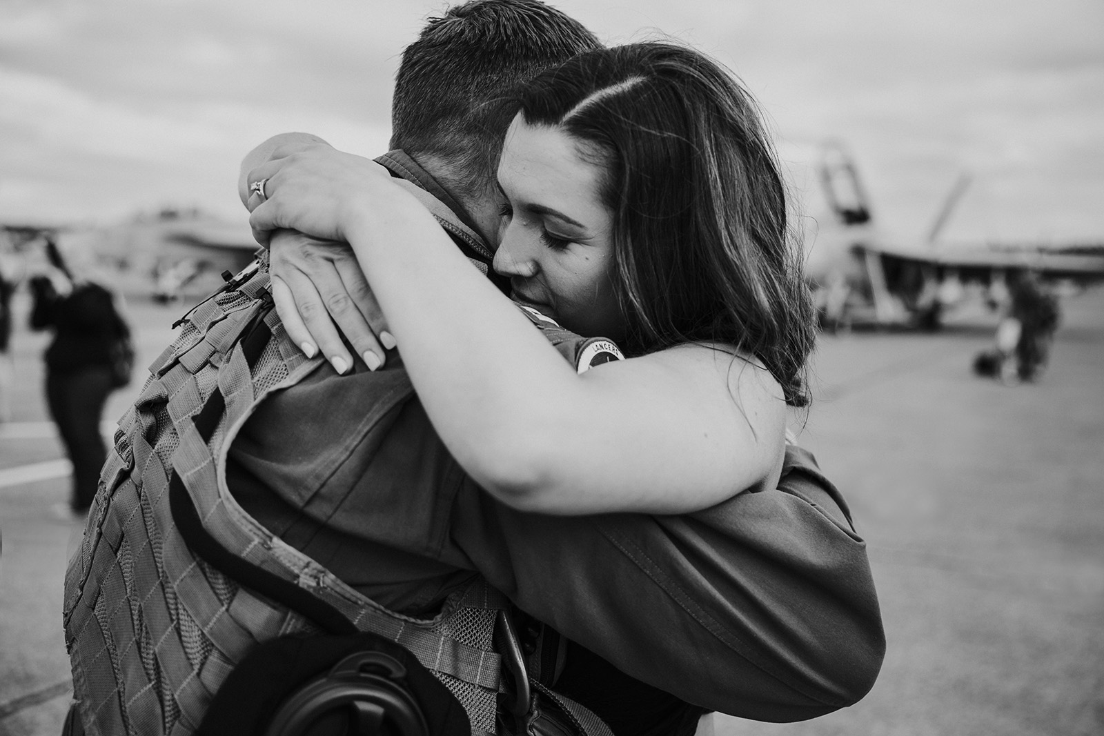 Photographing a military homecoming - tips for photographers