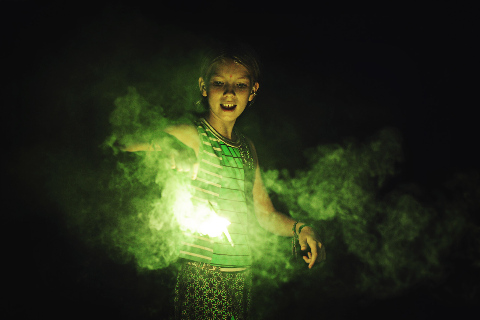 Using sparklers for photography