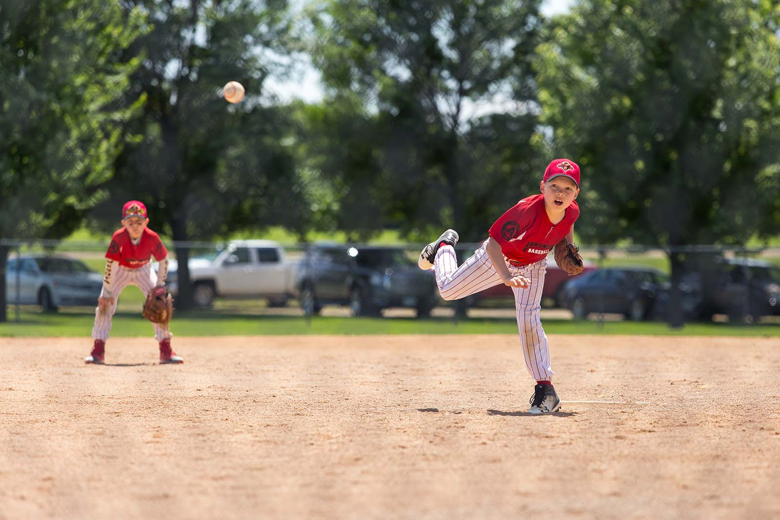 Photographing youth sports