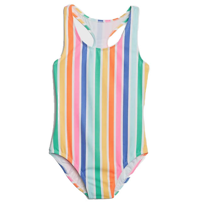Rainbow swimsuit summer photo props