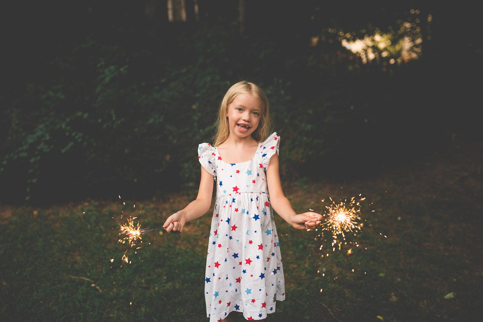 sparkler safety by Tiffany Kelly