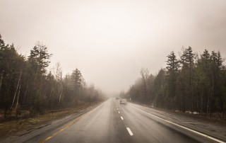 Cars on a foggy road: What's next in your photography journey