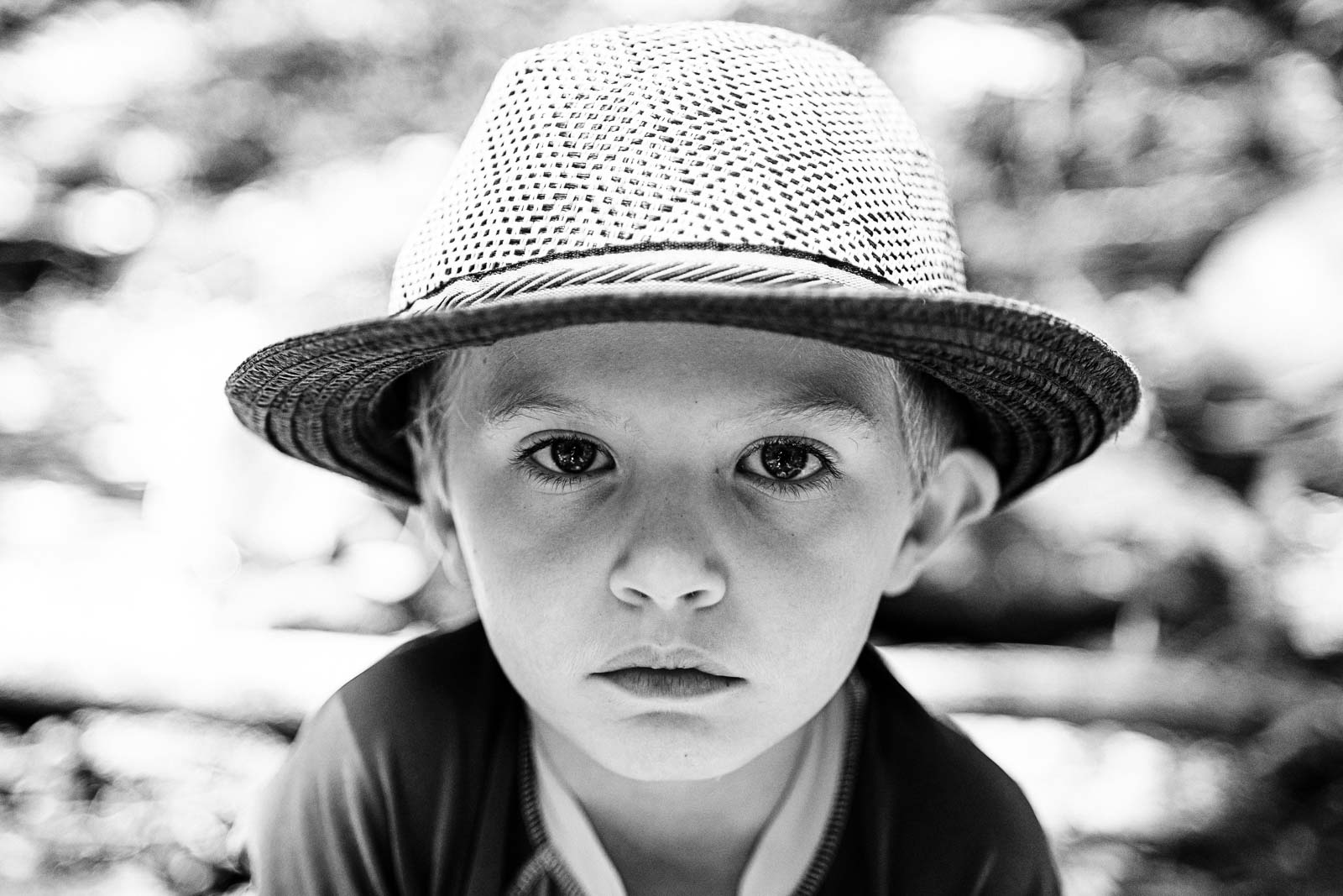 Portrait of a face taken with the Zeiss Batis 40mm lens