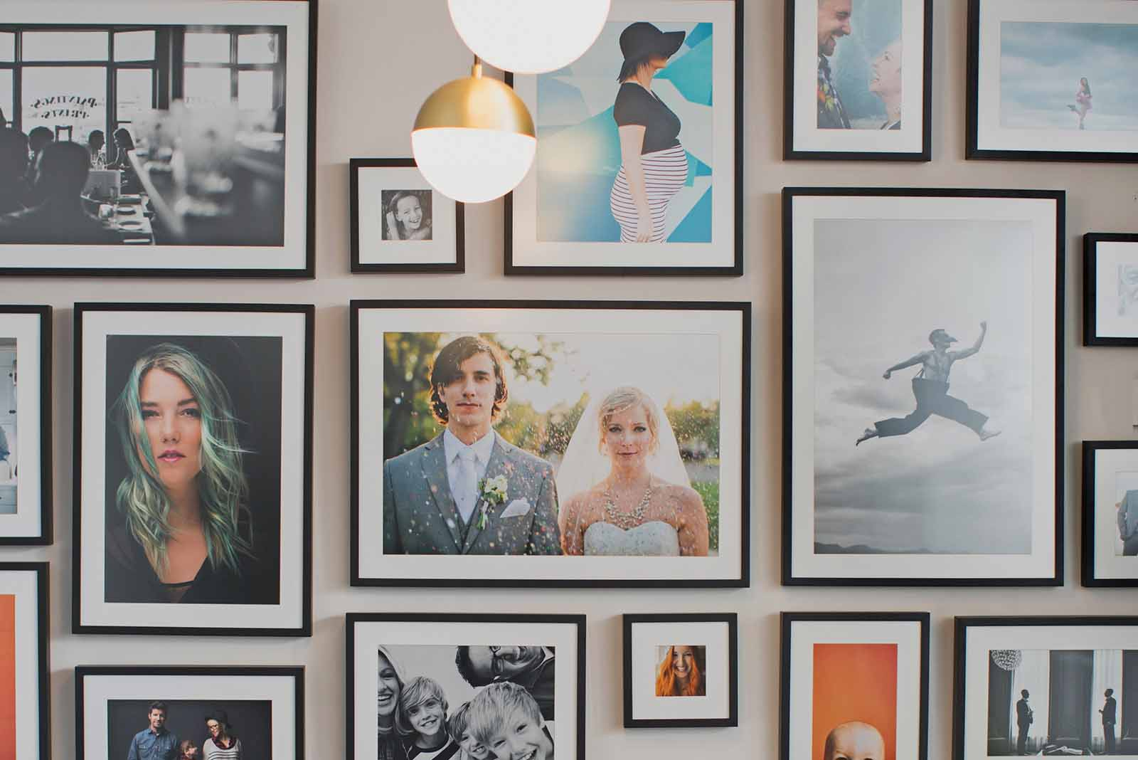 Miller's pro print lab gallery wall