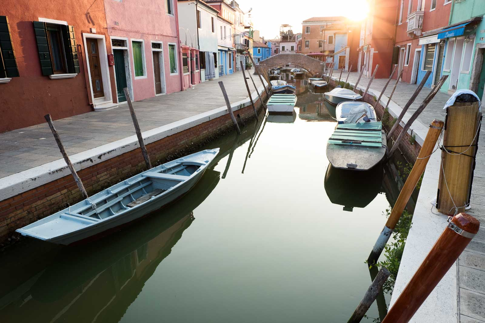 Boats in Venice: how to build a photography portfolio