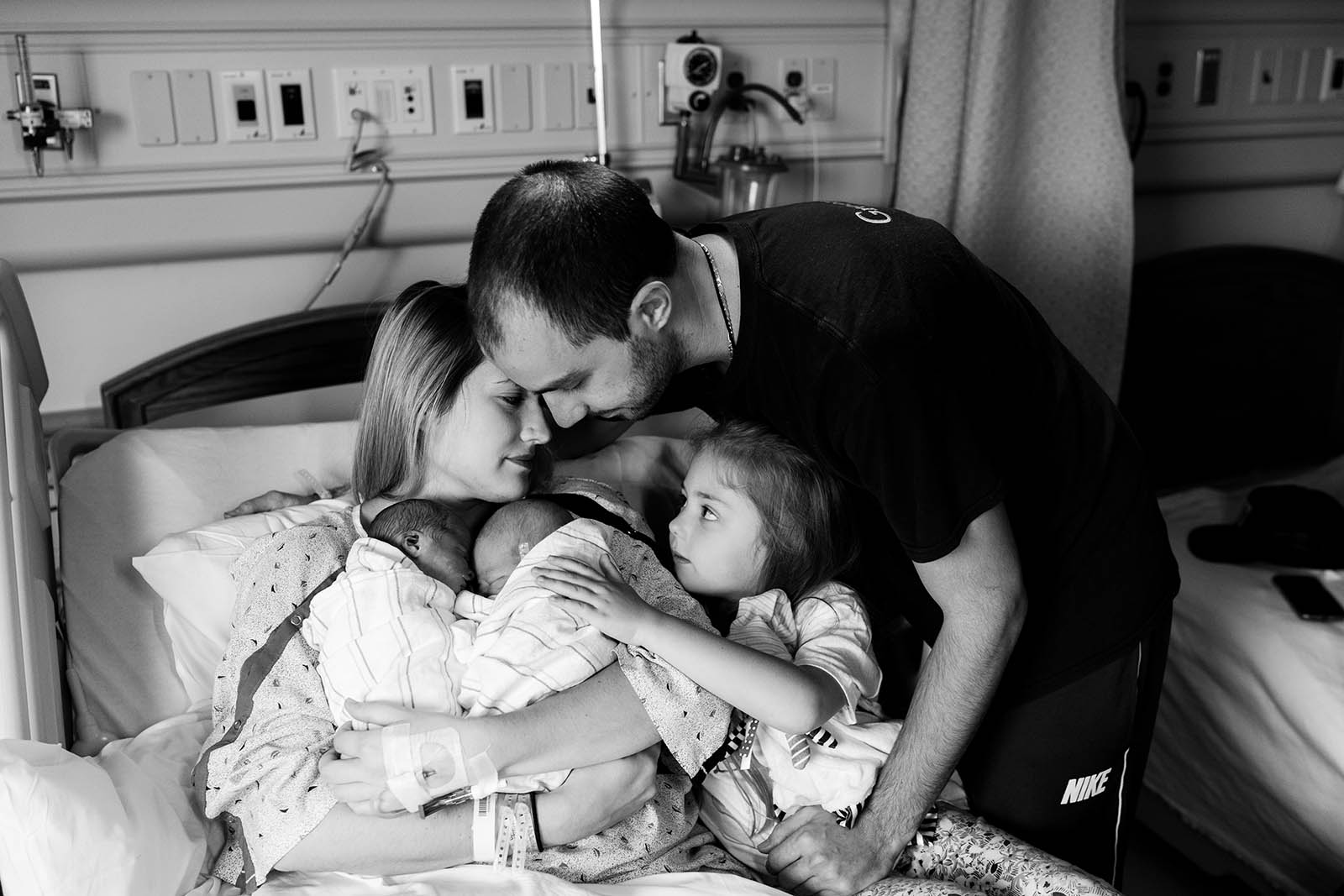 Photographing newborn twin loss