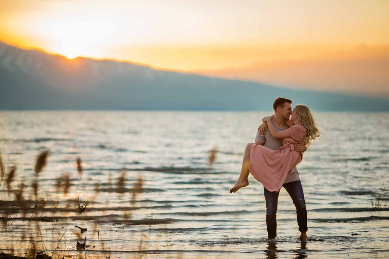 Cami Turpin 135mm shot of couple in water