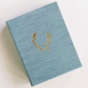Heirloom Bindery Linen Print Box