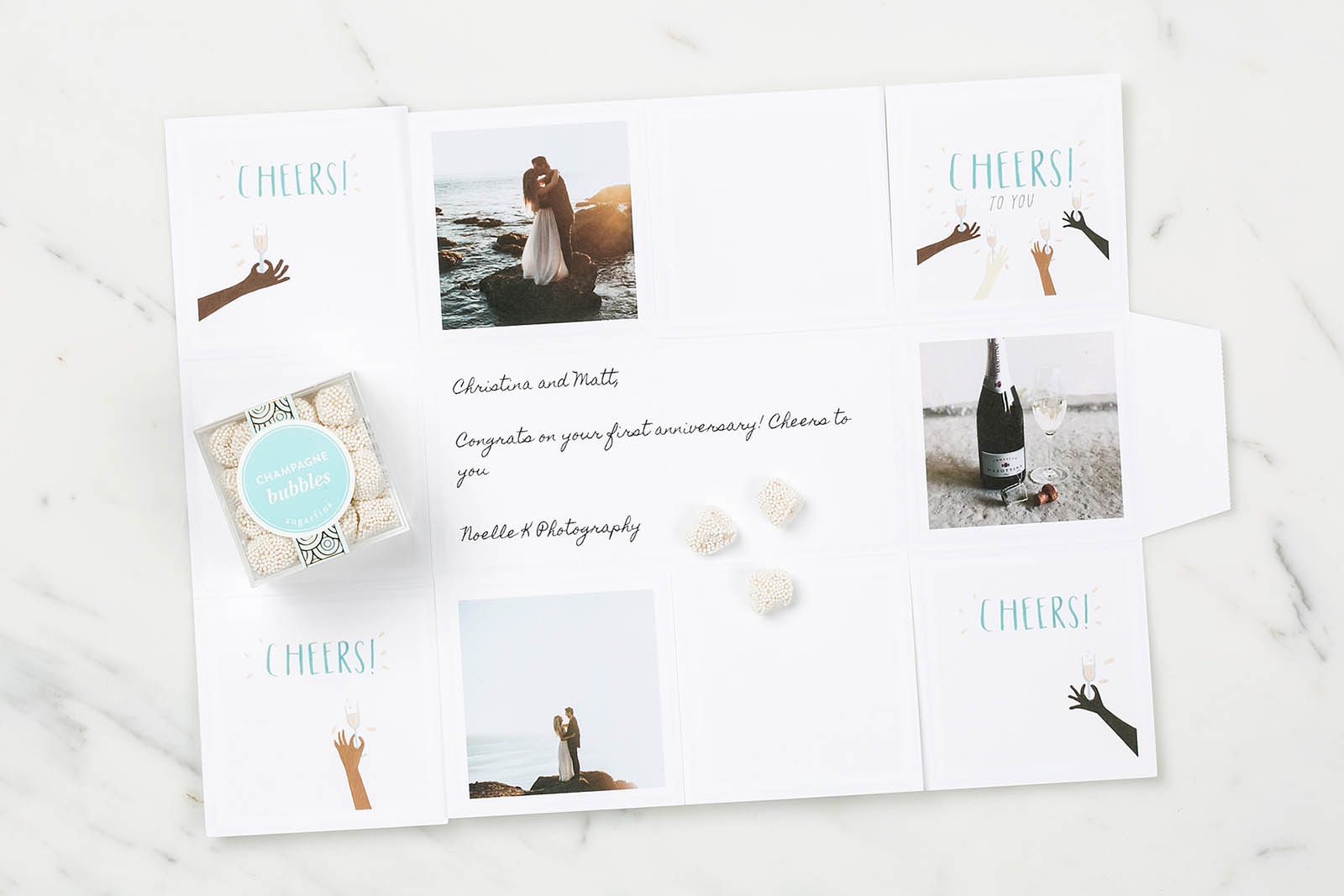 Greetable, best client gifts for photographers, wedding package
