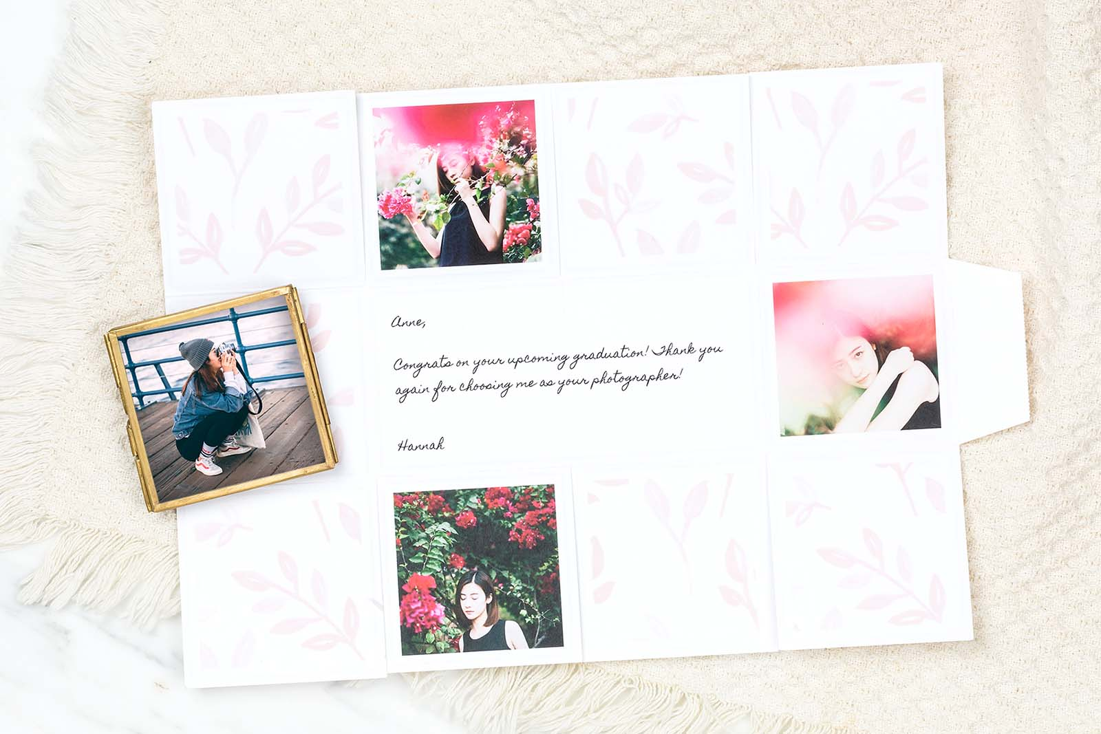 Best client gifts, senior photography session