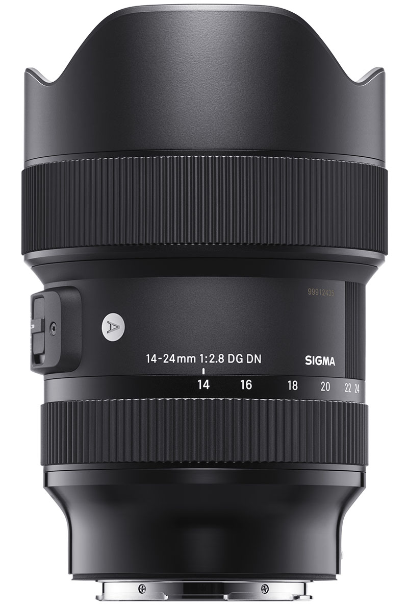 Sigma zoom lens duo for mirrorless cameras, 14-24mm