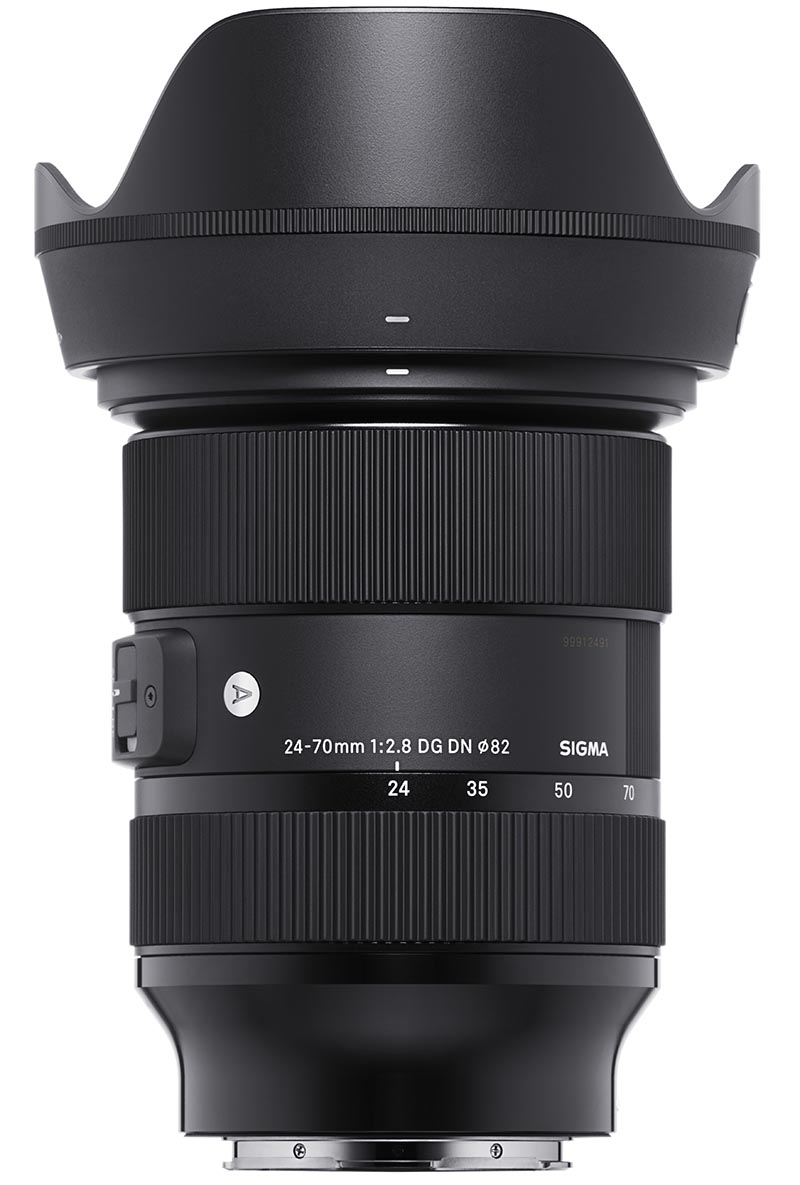 Sigma zoom lens duo for mirrorless cameras, 24-70mm