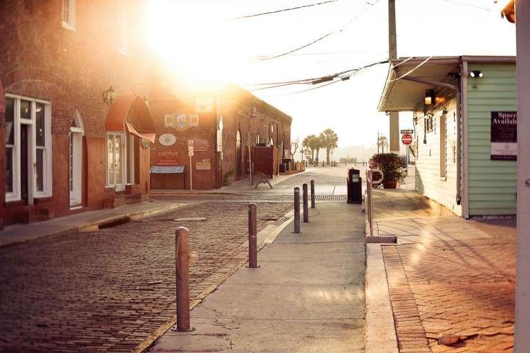 Photo of Key West during the Covid-19 shutdown