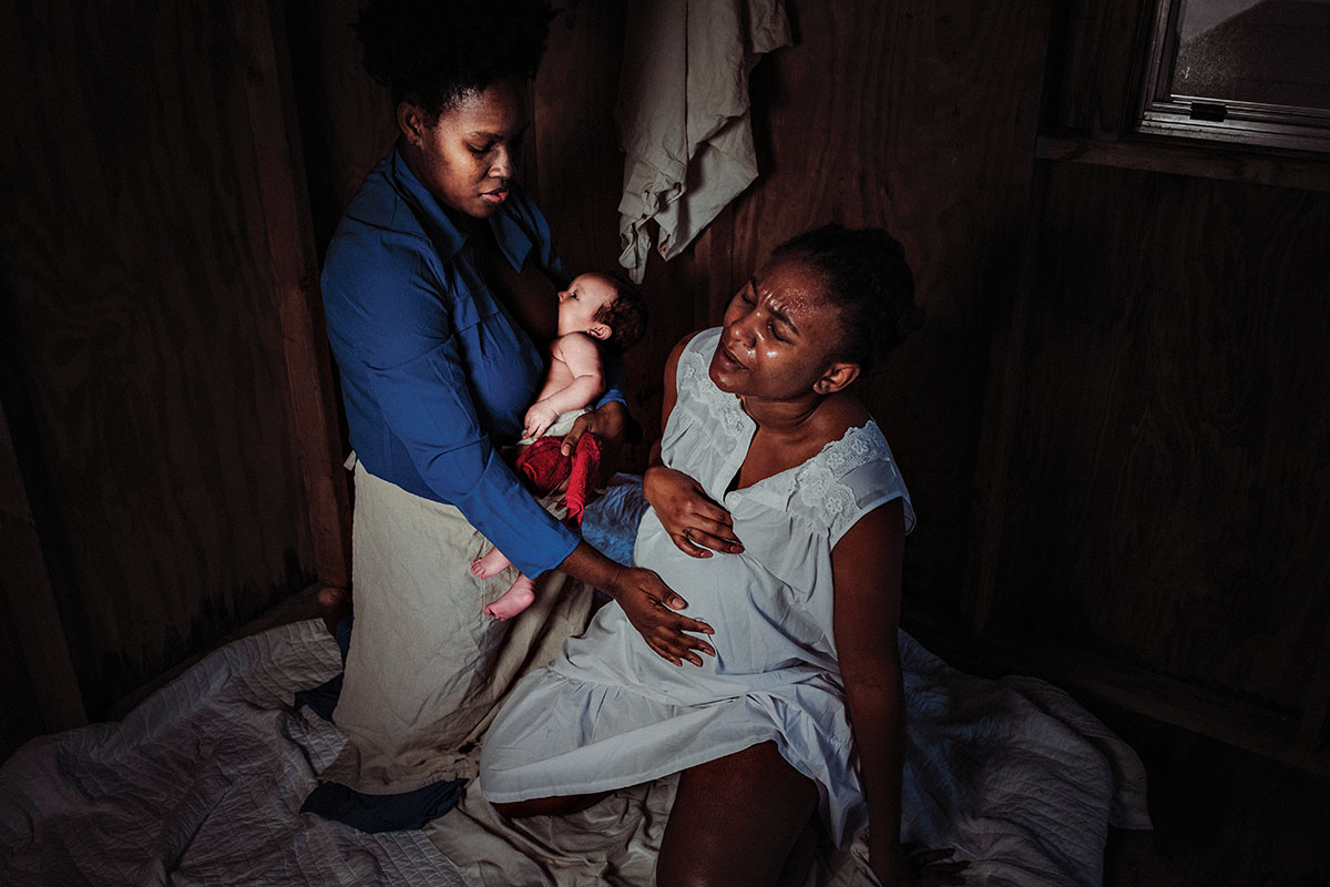 Slave birth project by Chinelle Rojas