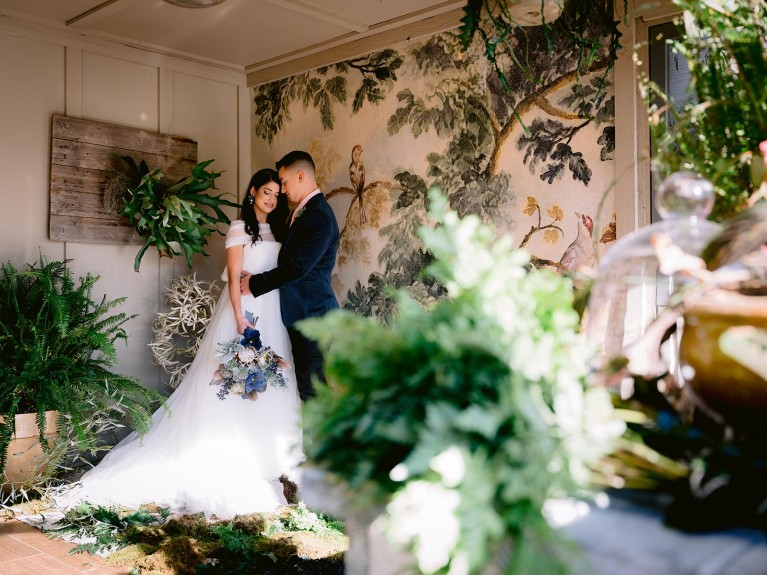 Wedding photo taken with Fujinon GF45-100mm f/4 R LM OIS WR lens