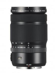 Fujinon GF45-100mm f/4 R LM OIS WR lens