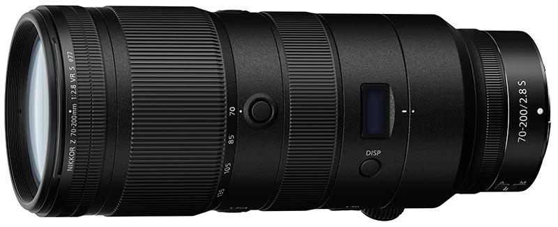 Nikkor 70-200mm lens